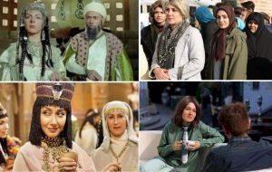 همه بازیگران زنی که با کلاهگیس در تلویزیون دیده شدند