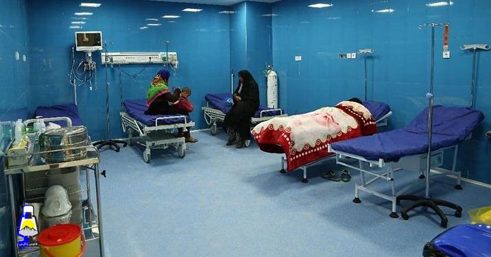 وقتی کرونا فروکش می کند/روزهای خلوت بیمارستان جلیل یاسوج