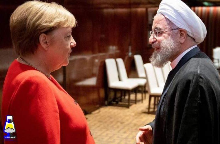 مرکل به روحانی: ایران باید علائم مثبت بفرستد