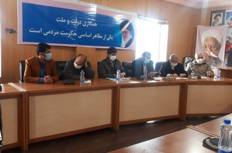نشست جمعبندی سفر نایب رئیس مجلس به شهر سیسخت برگزار شد+تصویر