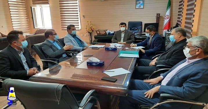نشست فرماندار گچساران با صاحبان جایگاه سوخت CNG