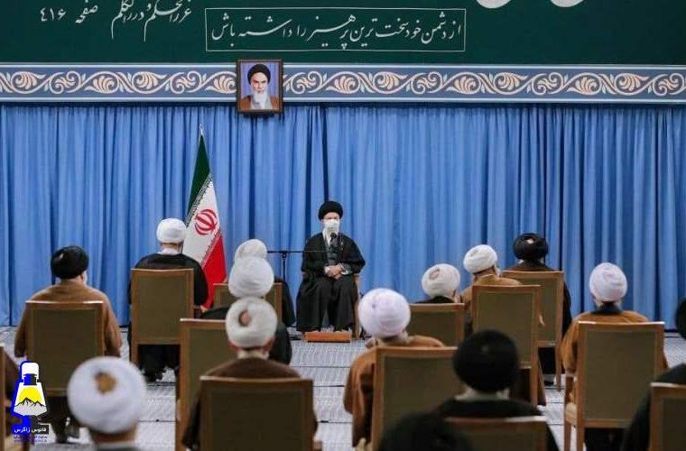 نمایندگان مجلس خبرگان رهبری به دیدار رهبر انقلاب رفتند