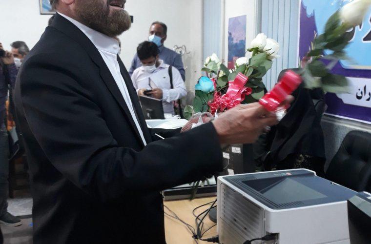 اخبار انتخابات میان دوره ای/سید قدرت الله حسینی ثبت نام کرد