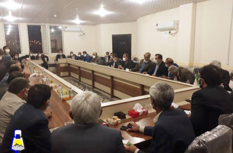 جلسه معتمدین شهرستان لنده به منظور انتخاب اعضای هیات اجرایی انتخابات برگزار شد+عکس