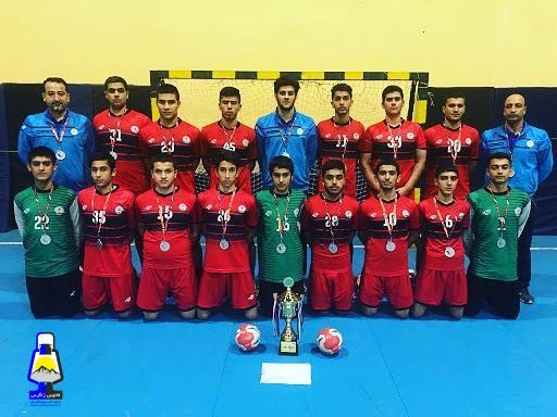 نوجوانان هندبال فرازبام خائیز دهدشت قهرمان ایران شدند