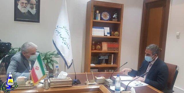 دیدار استاندار کهگیلویه و بویراحمد با معاون رئیس جمهور با موضوع زلزله سی سخت+جزئیات