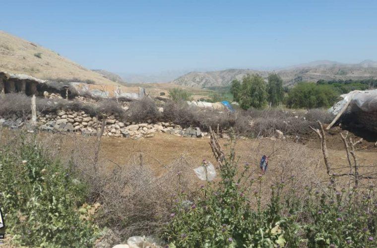 بی توجهی مسولین استان و شهرستان باشت به منطقه کلگه شوش باشت+عکس