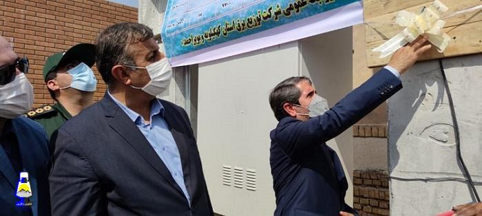 افتتاح هشت پروژه برق رسانی در لیکک بهمئی