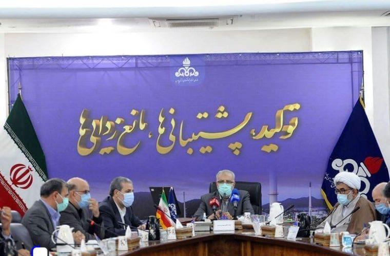 جزئیات نشست جواد اوجی، وزیر نفت با مدیران صنعت نفت در منطقه ویژه اقتصادی انرژی پارس+تصاویر