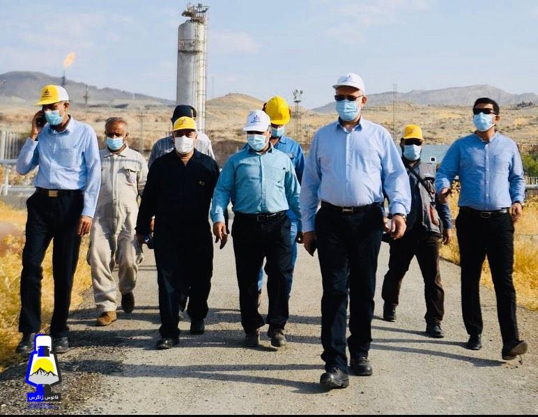پیام مدیرعامل شرکت بهره برداری نفت و گاز گچساران به سردار شهابی فر